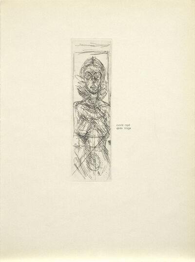 Alberto Giacometti, 'Annette de Face', 1955
