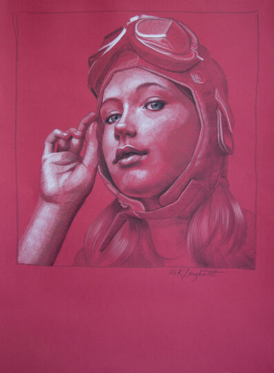 Kathrin Longhurst, 'Pilot Girl 21', 2020