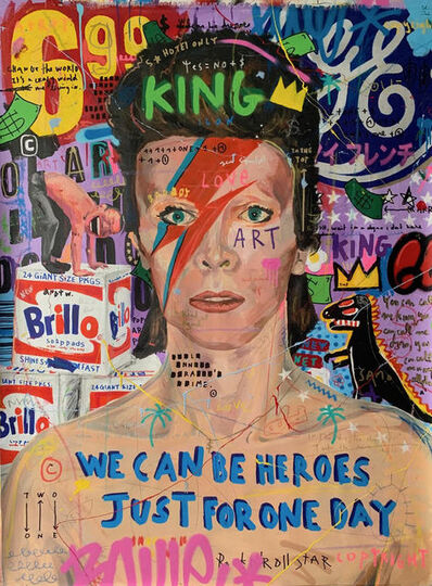 Jisbar, 'Bowie Bolt', 2019