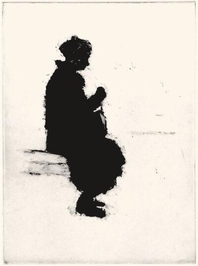Jack Boul, 'Seated Woman', 2018