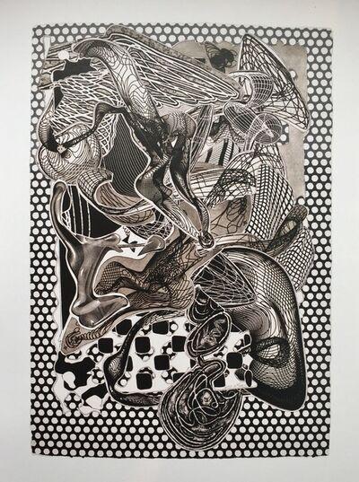 Frank Stella, 'Riallaro, (Black & White)', 1995