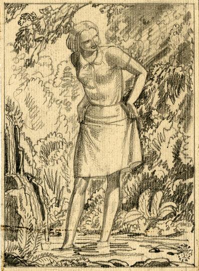 Rockwell Kent, 'Vitamin Advertisement, Preliminary Sketch', ca. 1935