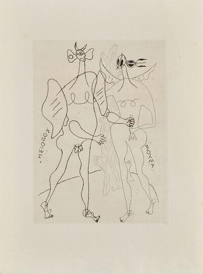 Georges Braque, 'La Théogonie d'Hésiode', 1955