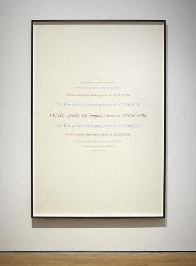 Jorge Méndez Blake, 'Complete Sonnets (Samuel Beckett)', 2014