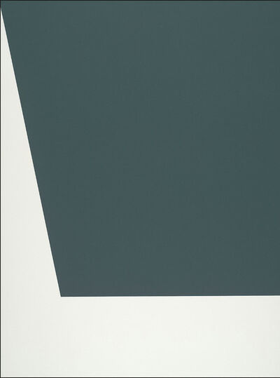 Ellsworth Kelly, 'Mallarmé Suite: Green', 1992