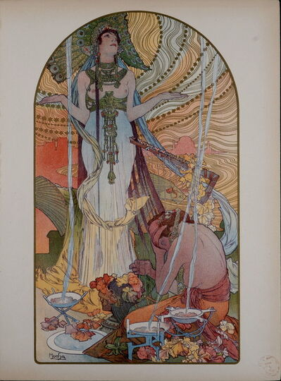 Alphonse Mucha, 'L'Estampe Moderne : Salomé ', 1897
