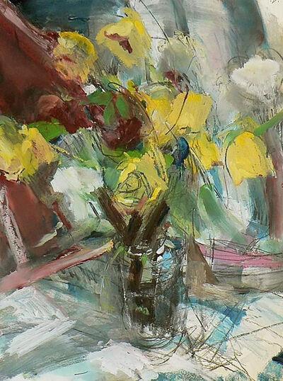 Michael Louis Johnson, 'Still Life: Roses in a Glass Jar', 2020