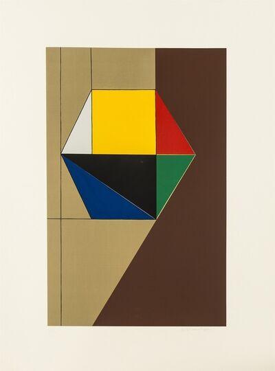 Mauro Reggiani, 'Ritmo Geometrico', 1973