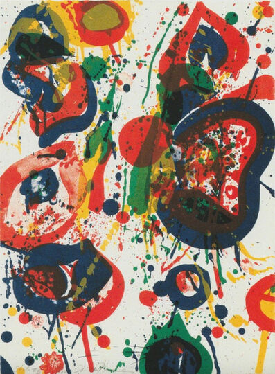 Sam Francis, 'An 8 Set - 3 (from the Pasadena Box)', 1963