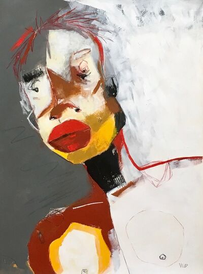 Vikki Drummond, 'RED LIPS', 2019