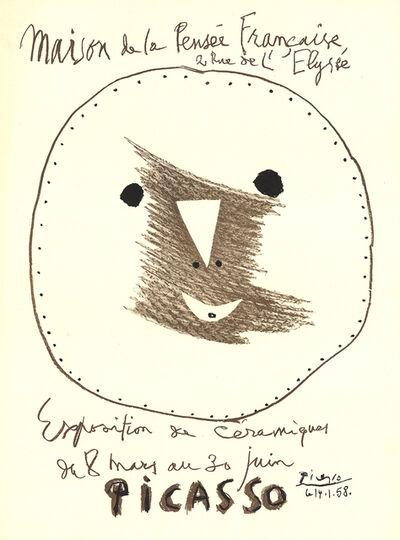 Pablo Picasso, 'Exposition de Ceramiques', 1958