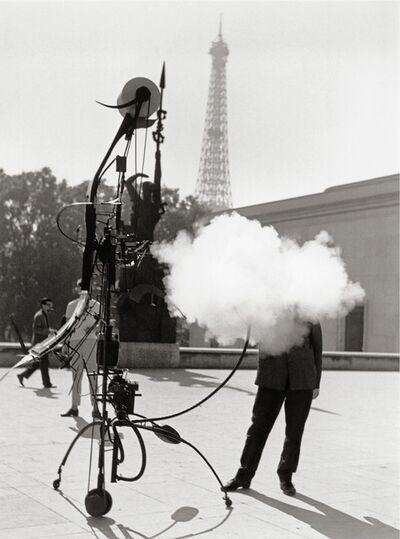 Robert Doisneau, 'Jean Tinguely - Portrait de l'artiste (Jean Tinguely - Portrait of the artist)', 1959