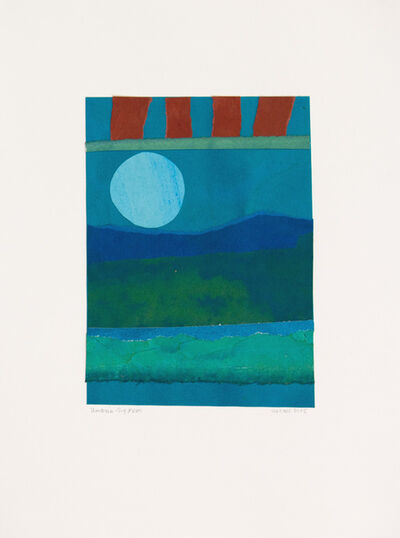 Lee Hall, 'UMBRIA-BIG MOON', 2015