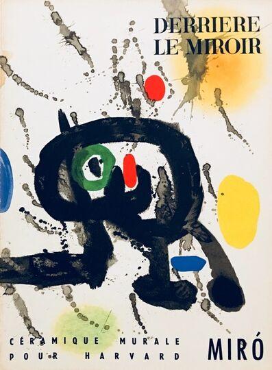 Joan Miró, 'From 'Derrière le Miroir - Joan Miró: Céramique Murale Pour Harvard'', 1961