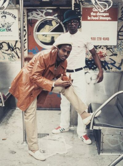 Jamel Shabazz, 'Number 2 Train', 1980