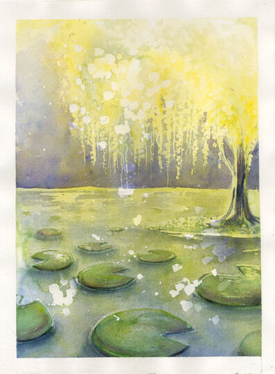 Melina Illinger, 'Lilypads and Willows', 2019