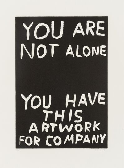 David Shrigley, 'You Are Not Alone', 2014