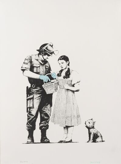 Banksy, 'Stop and Search', 2011
