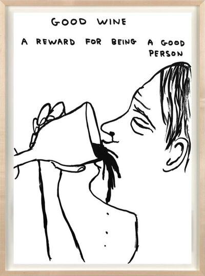David Shrigley, 'Good Wine', 2020