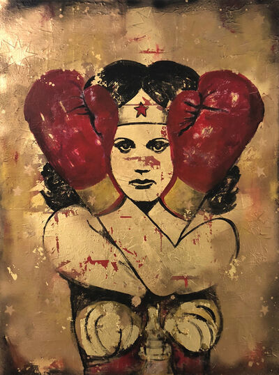 Cabell Molina, 'Fight Like A Girl III', 2017