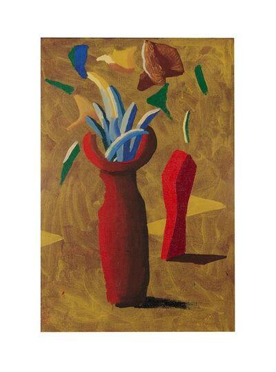 David Hockney, 'Two Red Pots', 1987