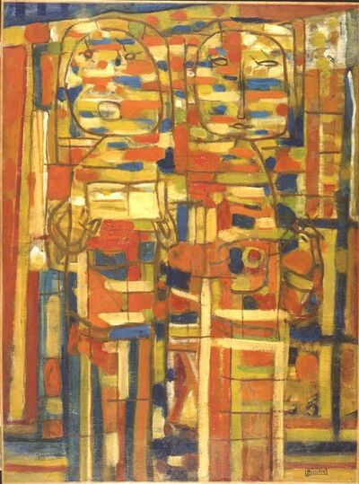 Roger Bissiere, 'La Chanson des rues', 1946
