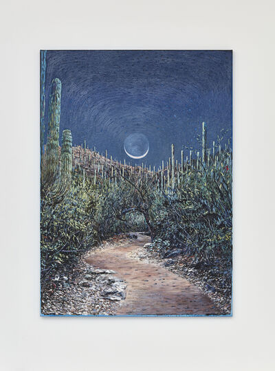Christine Frerichs, 'Wet Moon, Clear Path (Tucson)', 2017