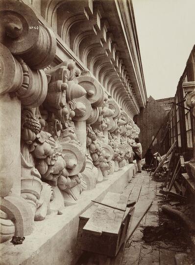 Louis-Emile Durandelle, 'The Stone Sculptor: Le Nouvel Opera de Paris, Sculpture', 1868/1875