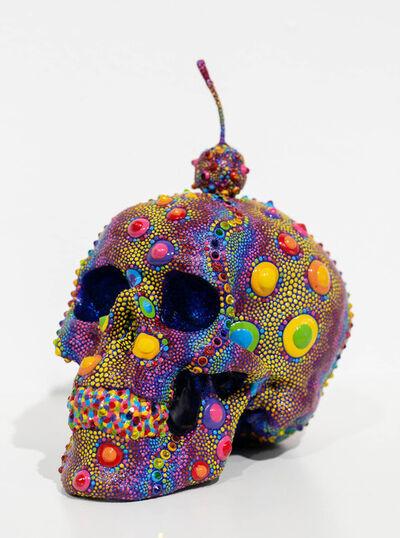 PJ Linden, 'Candy Urchin Skull', 2018