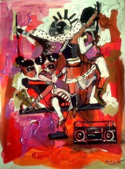 Aza Mansongi, 'Symphonie 1', 2018