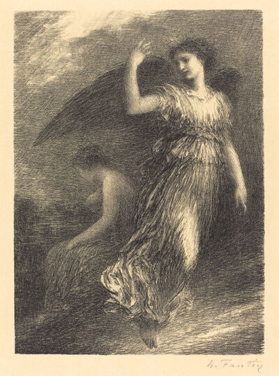 "Henri Fantin-Latour, 'Debut from ""Paradise and the Peri"" (3rdplate )', 1901"