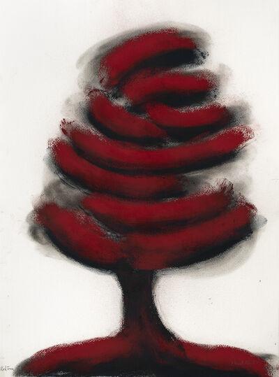 David Nash, 'Red Tree', 2019