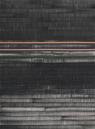 Juan Uslé, 'Soñé que revelabas (Huang He)', 2017