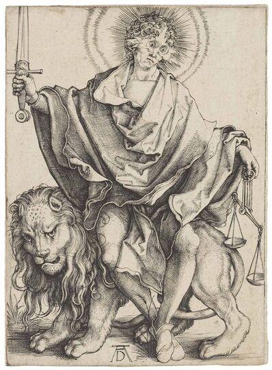 Albrecht Dürer, 'Sol Iustitiae (Bartsch 79; Meder, Hollstein 73; Schoch, Mende, Scherbaum 23)', ca. 1499