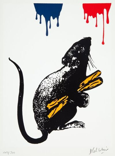 Blek le Rat, 'Rat No. 5', 2019