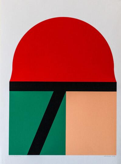 Takesada Matsutani, 'Red Sun', 1970