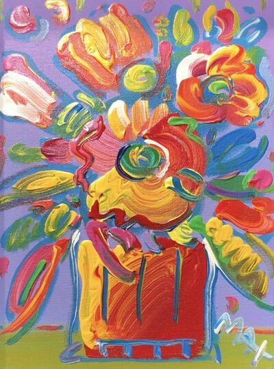 Peter Max, 'Vase of flowers ', 2010