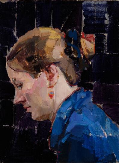 Hiroshi Sato, 'Blue Profile', 2017