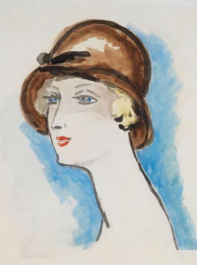 Kees van Dongen, 'Portrait de Femme, 1925-30', 1925-1930