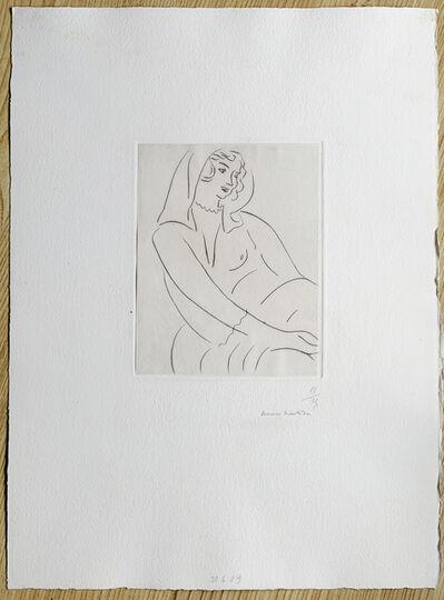 Henri Matisse, 'Jeune Femme, voile sur la tete', 1929
