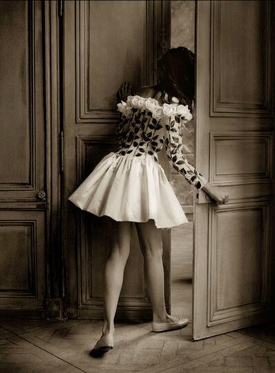 Albert Watson, 'Sandrine Ho in Valentino Dress, Paris', 1988