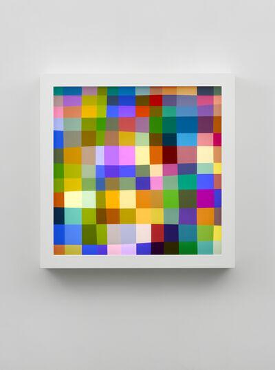 Spencer Finch, 'Color Test (144) ', 2016