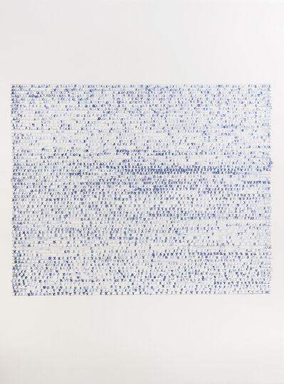 Sarah Irvin, 'X Stamp, No. 10', 2019