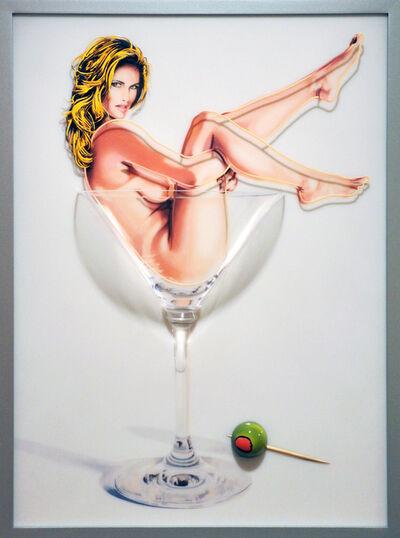 Mel Ramos, 'Martini Miss #1', 2013
