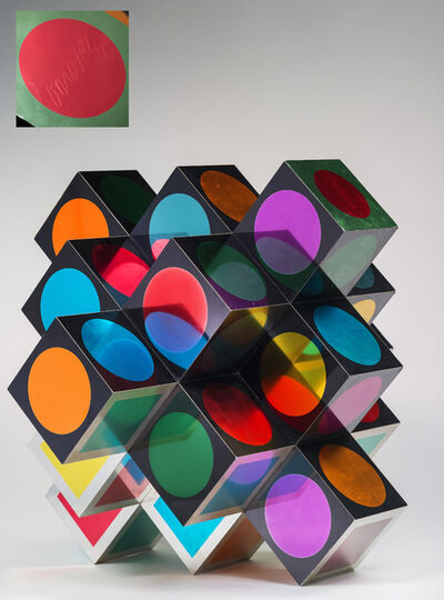 Victor Vasarely, 'Kroa A', 1970