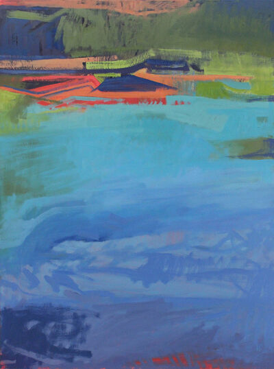 Harold Joiner, 'Pond with Geometry', ca. 2018