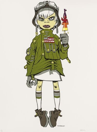 Jamie Hewlett, 'Screenprint in colours', 2004