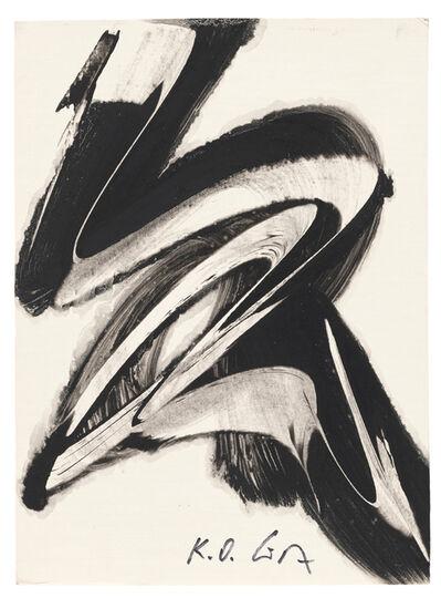 Karl Otto Götz, 'Komposition', 1984