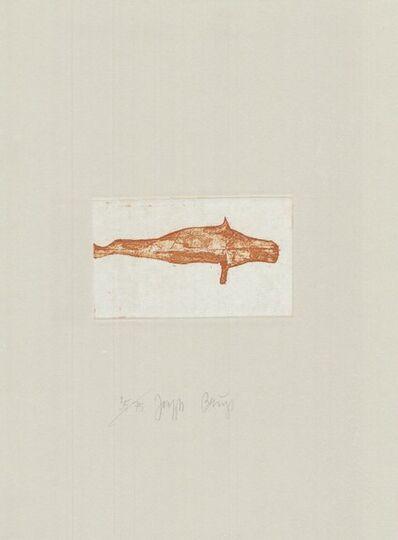 Joseph Beuys, 'Zirkulationszeit: Meerengel Robbe I', 1980-1990