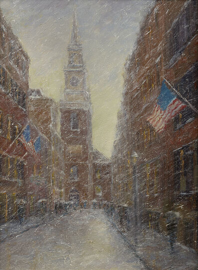 Mark Daly, 'President's Day, Old North Church (Boston, MA)', 2019